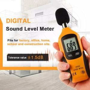 Harga ht 80a digital sound level meter measure noise decibel db | HARGALOKA.COM