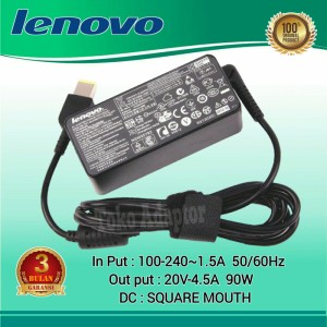 Harga original charger adaptor laptop lenovo y40 80 usb 20v 4 5a | HARGALOKA.COM