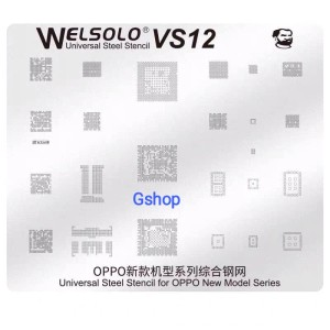 Harga bga stencils cetakan ic bga welsolo vs12 for oppo new | HARGALOKA.COM