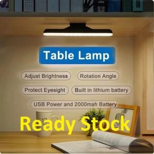 Harga lampu belajar led emergency baterai rechargable magnetic makeup | HARGALOKA.COM