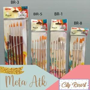 Info Brush Kuas Cat Air Lukis Acrylic Joyko Br 1 Katalog.or.id
