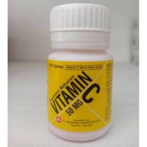 Harga vitamin c ifi tablet hisap 50 mg botol isi 100 | HARGALOKA.COM
