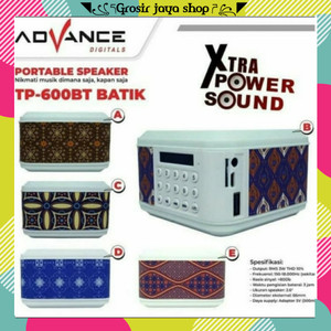 Harga speaker advance tp 600 bt speaker   HARGALOKA.COM