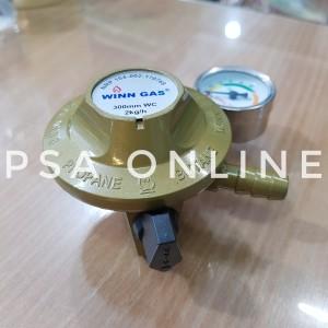 Harga winn gas regulator tekanan rendah dengan meteran w 118 | HARGALOKA.COM