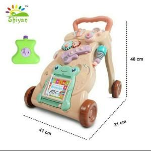 Harga mainan bayi dorong baby push walker mainan bayi belajar jalan  sni   | HARGALOKA.COM