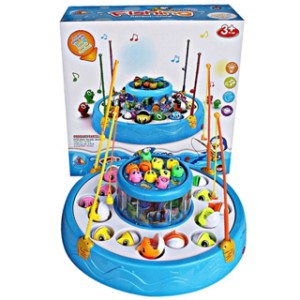 Harga mainan anak memancing ikan fishing game 2 kolam 4 kail   HARGALOKA.COM