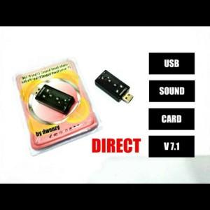 Harga sound card usb mini 7 1 channel soundcard usb 7 1 | HARGALOKA.COM