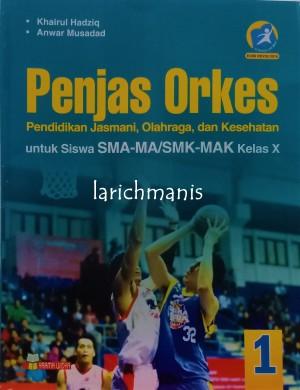 Harga buku pendidikan jasmani olahraga dan kesehatan kelas x yrama | HARGALOKA.COM