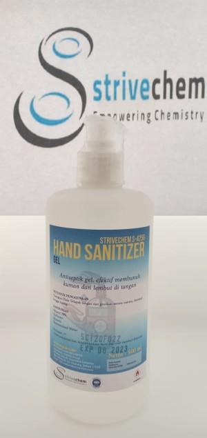 Harga hand sanitizer 500ml liquid 500ml gel bundle strivechem | HARGALOKA.COM