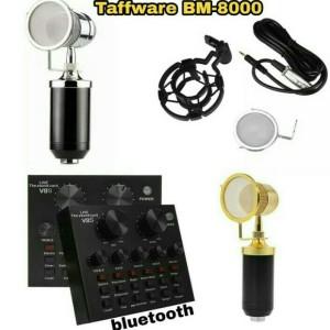 Harga paket mic bm 8000 sound card v 8s   | HARGALOKA.COM