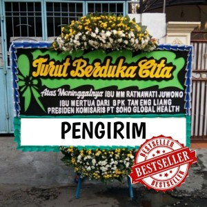 Harga sale karangan bunga papan duka cita papan bunga kirim rumah | HARGALOKA.COM
