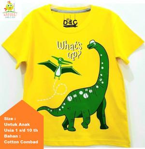 Harga baju balita kaos anak pria karakter dinosaurus trex usia 1   10 tahun   size   HARGALOKA.COM