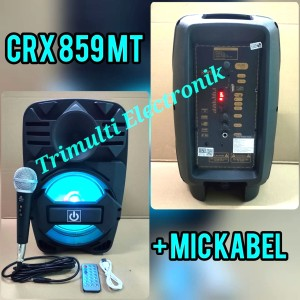 Harga speaker portable crimson crx859mt 8 inch | HARGALOKA.COM