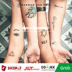 Harga tatto temporary 1lembar dapet macem2 15cm x 21cm high   HARGALOKA.COM