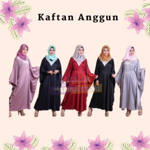Harga rocella kaftan anggun gamis wanita muslimah gamis polos panjang   pilih warna all | HARGALOKA.COM