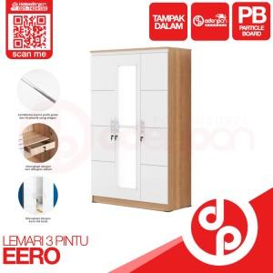 Harga lemari pakaian baju 3 pintu olympic eero   free ongkir odenpan | HARGALOKA.COM