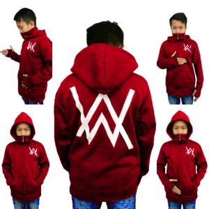 Harga sweater anak ninja alan walker marun ry   | HARGALOKA.COM