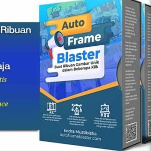 Harga tutorial   auto frame blaster   template desain instagram   HARGALOKA.COM