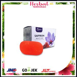Harga sabun saffron pemutih wajah 80gr sabun safron kecantikan isi 3 | HARGALOKA.COM
