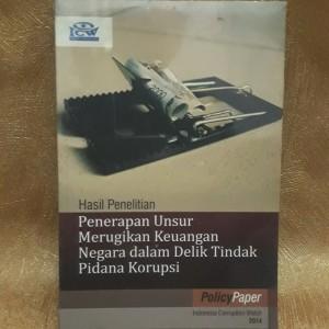Harga buku policy paper indonesia corruption watch | HARGALOKA.COM