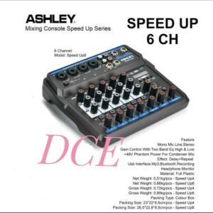 Harga mixer audio ashley speed up 6 original 6channel usb interface | HARGALOKA.COM