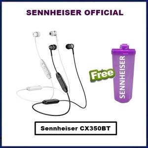 Harga sennheiser cx 350bt wireless earphone cx350bt cx350 bt cx 350 bt   | HARGALOKA.COM