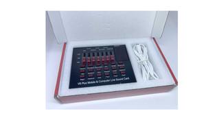 Harga taffstudio bluetooth usb external soundcard live mic headset   v8 | HARGALOKA.COM
