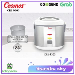 Harga magic com rice cooker cosmos crj 9303 stainless steel 2l | HARGALOKA.COM