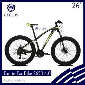 Harga sepeda mtb exotic 2658 4 0 fatbike ban besar 21 speed   kurir | HARGALOKA.COM
