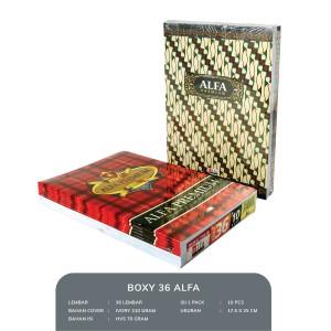 Harga buku tulis boxy 36 alfa | HARGALOKA.COM