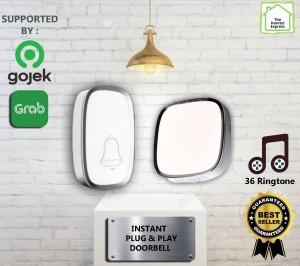 Harga bel rumah wireless waterproof instant doorbell pintu rumah   HARGALOKA.COM