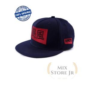 Harga topi snapback pria distro red hiraganam   h 8017 | HARGALOKA.COM