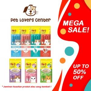 Harga Meo Me O Creamy Treats Snack Kucing Rasa Salmon Flavor 1 Pack 60gr Katalog.or.id
