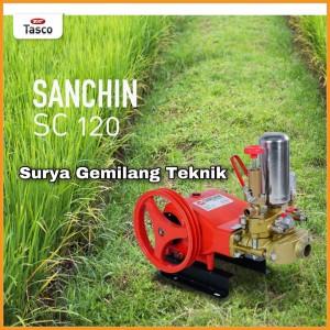 Harga power sprayer sanchin sc 120 mesin usaha steam cuci mobil   HARGALOKA.COM