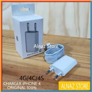 Harga charger iphone 4 4s 4g ori 100 casan apple ipad 2 ipad 3 | HARGALOKA.COM