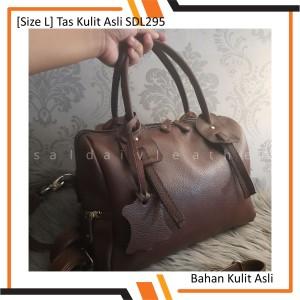 Harga size l tas kulit papirut selempang wanita garut | HARGALOKA.COM