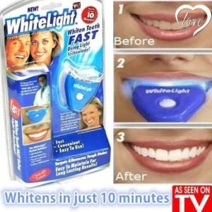 Harga white light pemutih gigi membersihkan dan memutihkan karang | HARGALOKA.COM