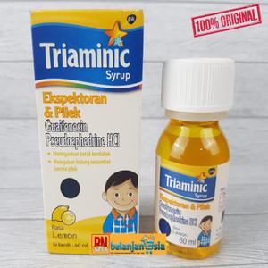 Harga triaminic ekspektoran dan pilek 60ml   obat batuk pilek   HARGALOKA.COM
