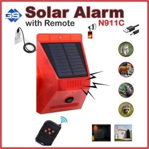 Harga alarm keamanan rumah kantor gudang kebun pabrik solar | HARGALOKA.COM