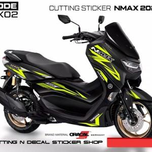 Harga striping cutting sticker new nmax kuning stabilo mix | HARGALOKA.COM