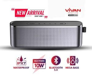 Harga vivan vs10 speaker mega bass bluetooth original hi fi waterproof | HARGALOKA.COM