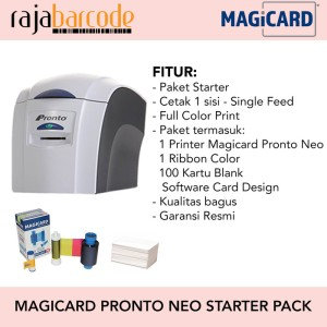 Harga paket printer magicard pronto neo   utk cetak kartu flazz   HARGALOKA.COM