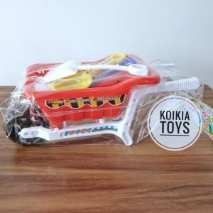 Harga mainan bak pasir dengan sekop dan cetakan pasir kinetik     HARGALOKA.COM