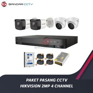 Harga paket pasang cctv hikvision 2mp 4 | HARGALOKA.COM
