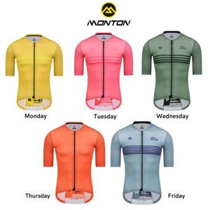Harga jersey sepeda monton baju sepeda cycling monton 100 original   monday kuning pria   HARGALOKA.COM
