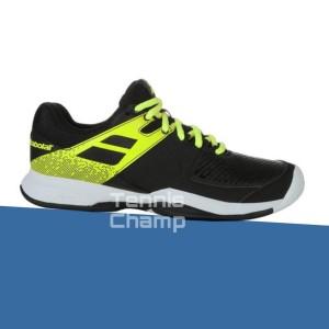 Harga sepatu tenis babolat pulsion all court black fluo aero men tennis | HARGALOKA.COM
