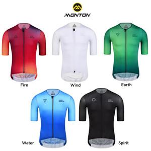 Harga jersey sepeda monton   baju sepeda monton 100 original roadbike gowes   fire merah pria   HARGALOKA.COM