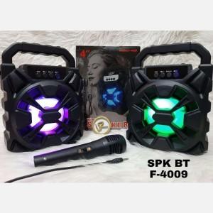 Harga speaker bluetooth f 4009 mic karaoke ukuran | HARGALOKA.COM