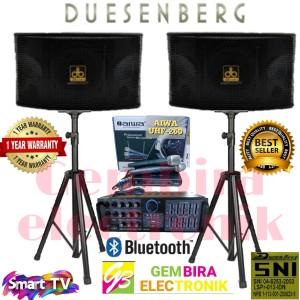 Harga paket karaoke speaker dusenberg 10 inchi ampli mixer bluetooth | HARGALOKA.COM