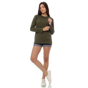Harga baju kaos polos army lengan panjang wanita size kecil sampai jumbo   | HARGALOKA.COM